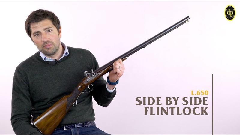 SIDE BY SIDE FLINTLOCK - L.650