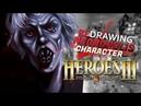 ✍ рисуем Эйслинн из Героев 3 / drawing Aislinn from HOMM 3