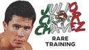Julio Cesar Chavez RARE Training In Prime
