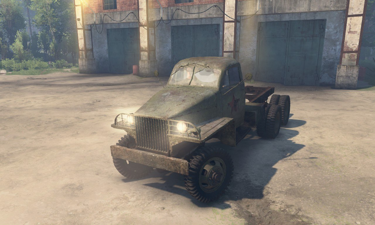Studebaker US-6 (Red Army) для 03.03.16 для Spintires - Скриншот 1