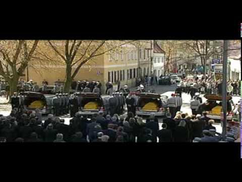 Bundeswehr Trauerfeier f 4 Soldaten getötet in Afghanistan Funeral for 4 German Soldiers