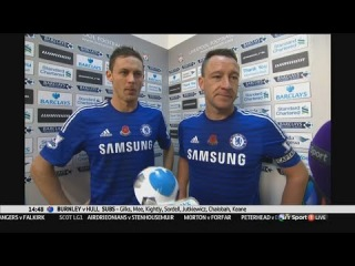 Liverpool vs Chelsea 1 : 2 - John Terry & Nemanja Matic post-match interview