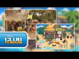 Teen Beach Movie Summer Jam - Disney Channel Game On - Club Penguin