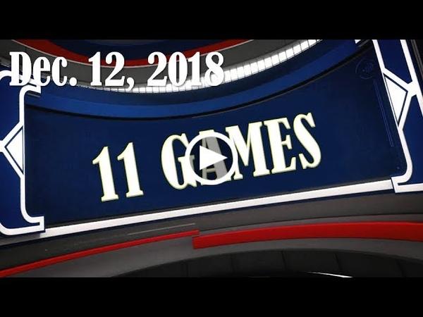 2018.12.12 11GAMES ALL RECAP
