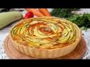 Киш с кабачками и морковью | Больше рецептов в группе Кулинарные Рецепты