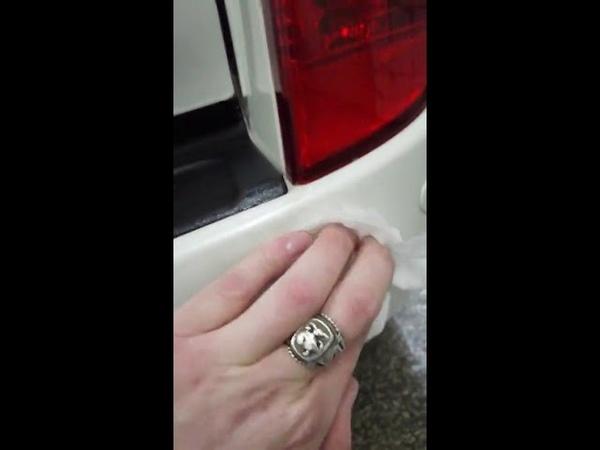 Пензенский автовладелец показал, как реагенты портят автомобиль