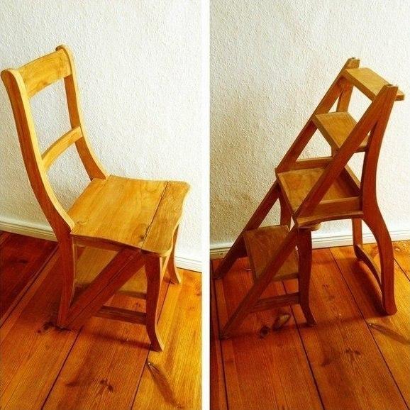 Раскладной стул-стремянка