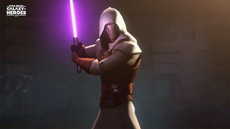 Star Wars Galaxy of Heroes Legend of the Old Republic