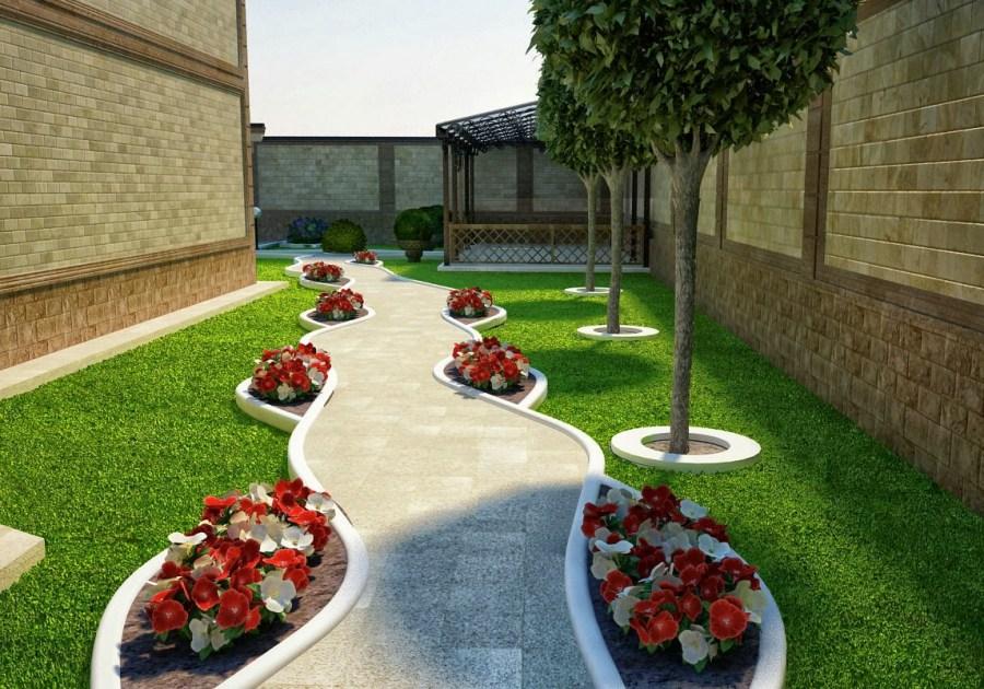 Какие есть варианты озеленения дворов?