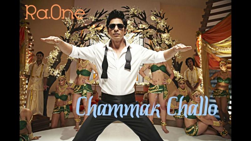 Красавица-кокетка | Случайный доступ | Chammak Challo | Ra.One | Shah Rukh Khan | Русские Субтитры