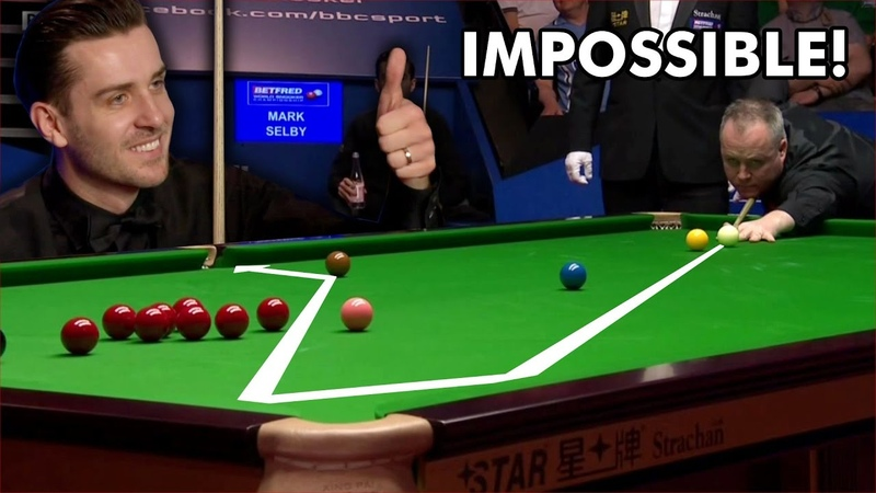 IS IT POSSIBLE! Funniest Snooker Moment!