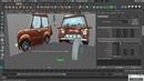 Моделирование мультяшного автомобиля в Maya часть 1