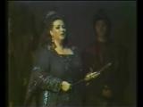 Монсеррат Кабалье поет арию Casta Diva из оперы «Норма» Винченцо Беллини. Москва, 1974 год.