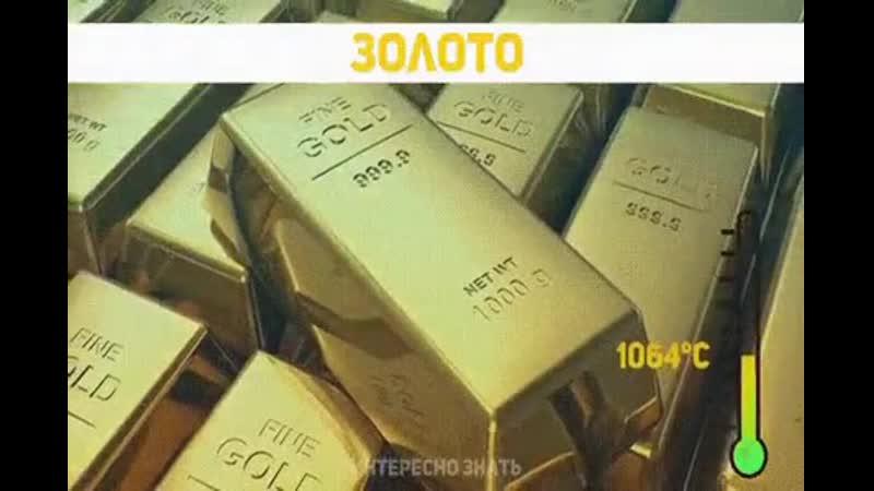 Температура плавления известных металлов