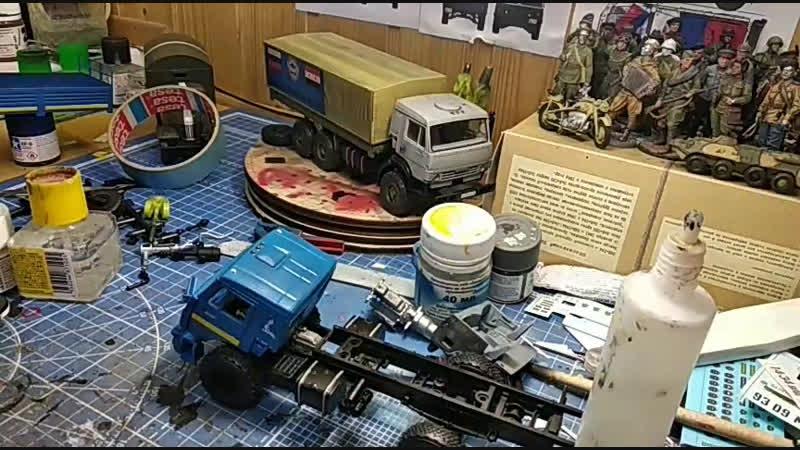 КАМАЗ 43502 от avd models часть 2