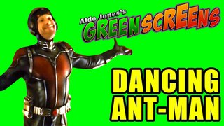 DANCING ANT-MAN GREEN SCREEN #2   Feel Free to Use It For Your Memes