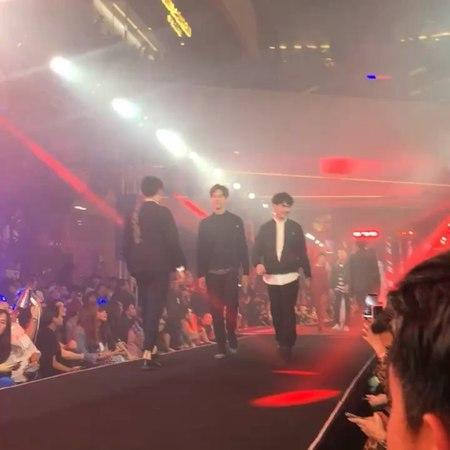 """โอ๋ ยชญ กรณ์หิรัญYot Kornherun on Instagram: """"@tae_darvid @tee_jaruji Fashion Show Today Reflect your FIERCENESS! """"Emporium EmQuartier Fierce Fashi..."""