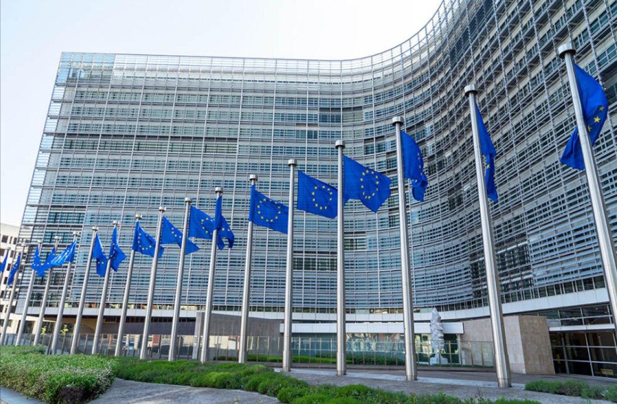 Квартал зданий Евросоюза в столице Бельгии
