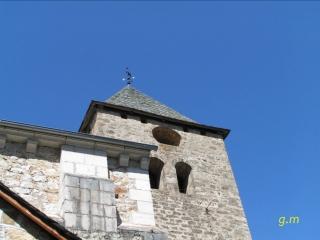 Eglise de canac - aveyron - france