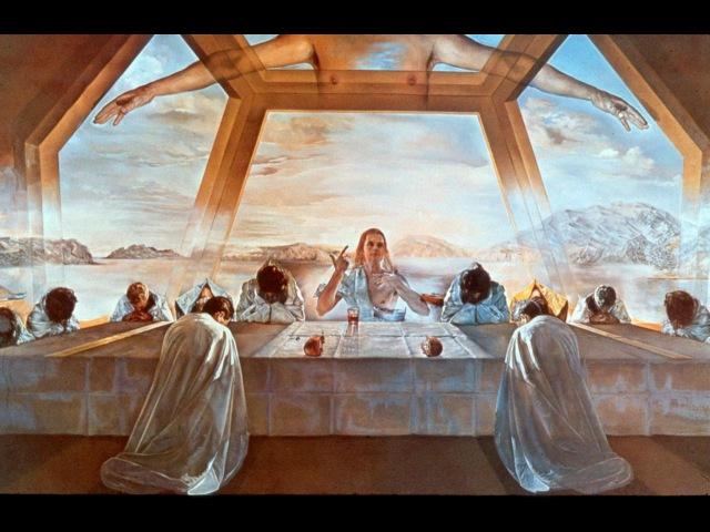 Мост над бездной Паолы Волковой Выпуск 18 Сальвадор Дали Тайная вечеря