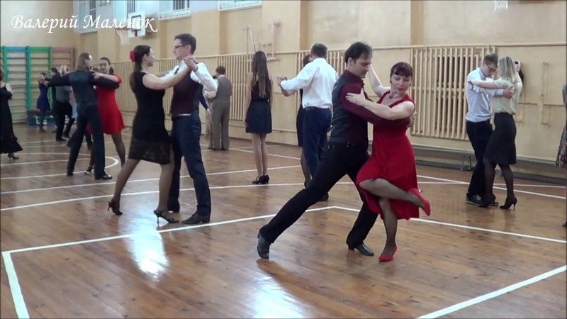 Празднуем день танго в школе танца! Music! Dance! Tango!