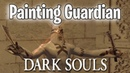 Painting Guardian Trolling Dark Souls Remastered