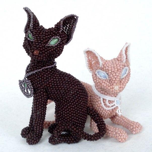 ...бисероплетение собаки кошки павлины и т д Для оптимизации поиска по ключу кошка из бисера схемы.