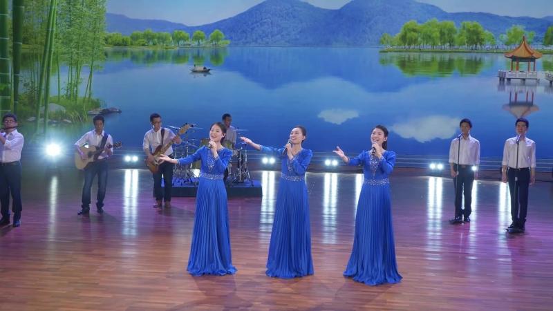 """Pieśń uwielbienia """"Tutejsze niebo jest takie niebieskie"""" Nastało królestwo Chrystusa (Chór damski)"""