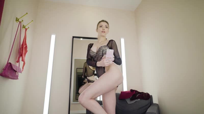 LINGERIE TRY ON - Thong Bodysuit HAUL - Supermodel Mila Azul