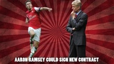 Arsene Wenger Says Aaron Ramsey Can Sign New Arsenal Contract