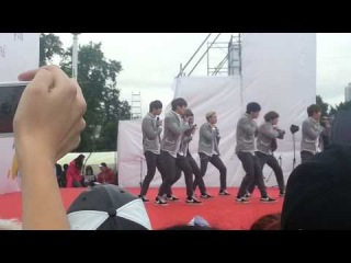 140615 BTS in Moscow Fancam No more dream