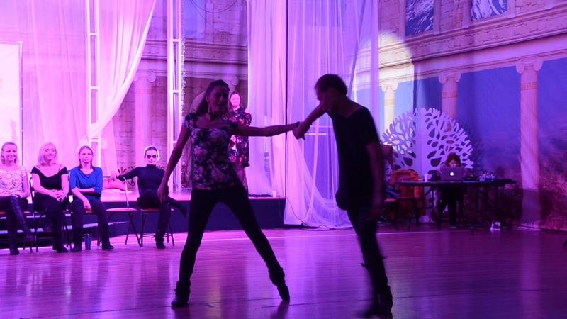 Хастл Discofox HDfest 2018 Invitational Апрелев Николай и Вероника Лебедева Карева Slow