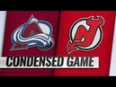 Colorado Avalanche vs New Jersey Devils – Oct.18, 2018 Game Highlights NHL 18/19 Обзор матча