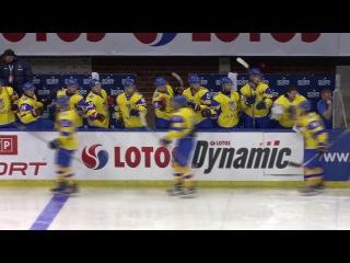 2017 EIHC. Ukraine - Kazakhstan - 1:5 (highlights, 15.12.2016)