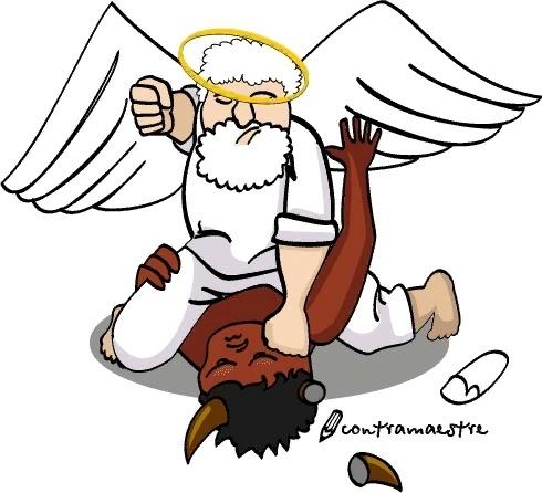 -бог умер,- прошептал философ и зажмурился, ожидая грома небесного. но ничего не произошло. небеса не спешили карать его за озвучивание столь дерзновенной мысли. -бог умер!- уже увереннее заявил