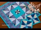 Patchwork Triangl Half Square - Pravo