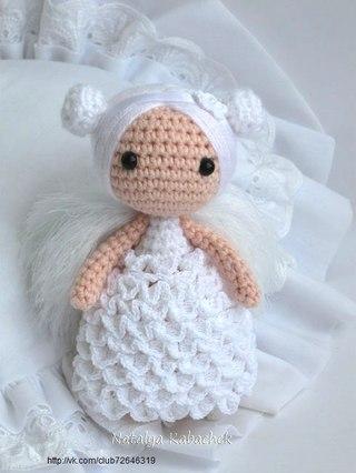 Куколка Ангел. автор идеи