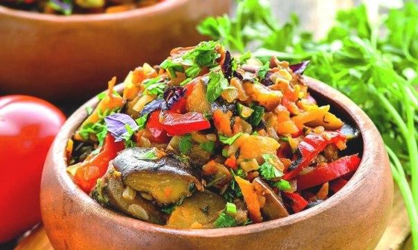 Аджапсандали — потрясающая грузинская закуска из баклажанов 🍵 ↪