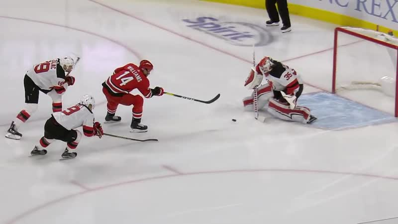 Hurricanes storm out to a quick 2-0 lead