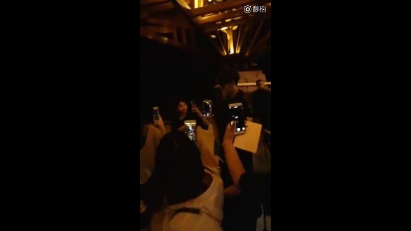 видео от 汪东城-yuan 30618 вечер