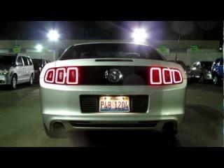 2013 Ford Mustang V6 review: walk-around, start-up, & engine rev