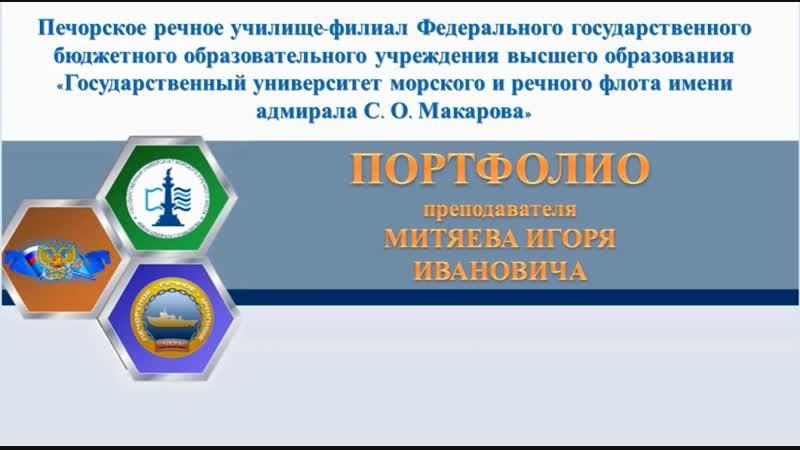 Портфолио Митяева ИИ 2018-2019