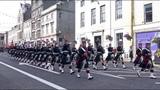 The Highlanders Royal Regiment of Scotland homecoming parade through Aberdeen Sept 2017 - 4K