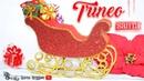 Trineo de santa claus decoración Navideña en foamy o goma eva
