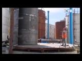 27.04.2018 Специалисты «МСУ-90» ведут установку баков системы химически обессоленной воды