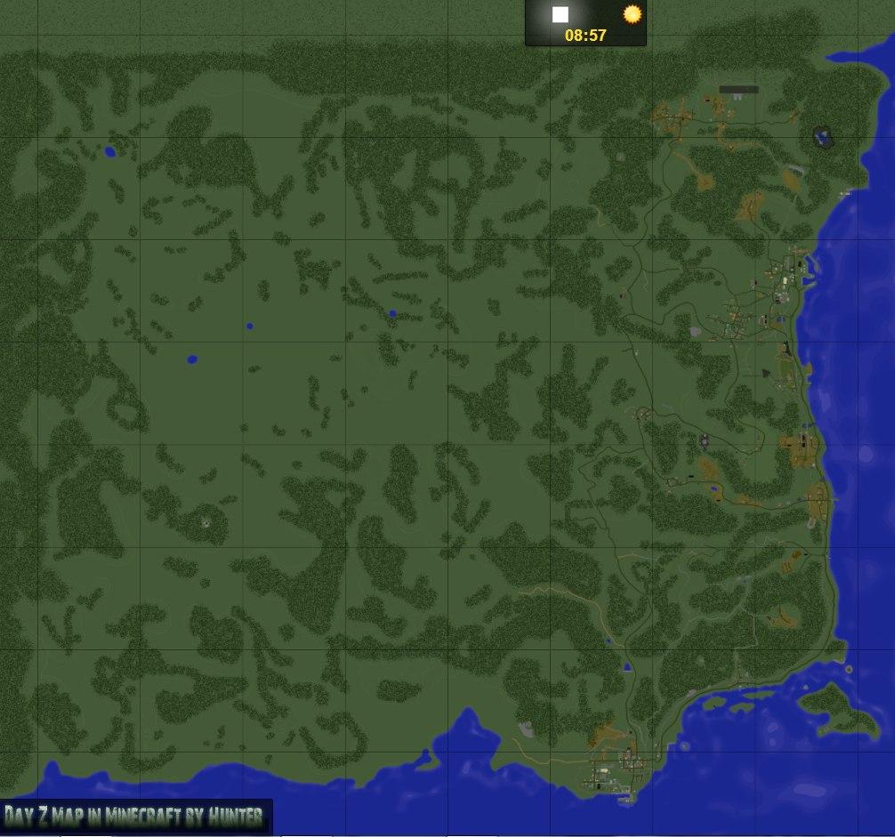 скачать Dayz карту для Minecraft - фото 11