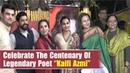 Celebs Grace Centenary Celebration Of Legendary Poet Kaifi Azmi Shabana Azmi