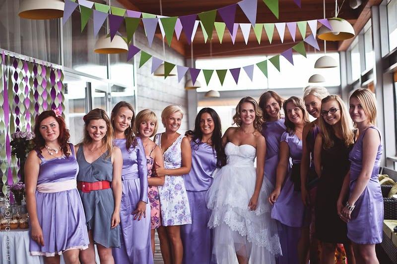гости на свадьбе в стиле путешествие
