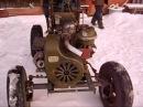 Самодельный трактор.1видео