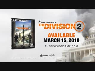 Tom Clancy's The Division 2 - Pre-Order Trailer PS4